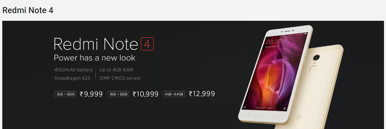 next redmi note 4 sale in india is set for february 22