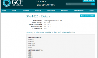 Galaxy Tab S3 gears up for release, gets certified at GCF too!