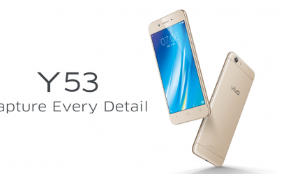 Vivo Y53 launched in Malaysia, coming soon to India too