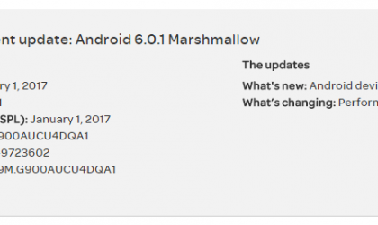 AT&T Galaxy S5 OTA update rolling out with performance improvements and January patch, build G900AUCU4DQA1
