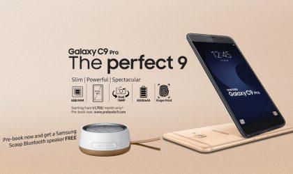 Galaxy C9 Pro pre-order begins in Bangladesh