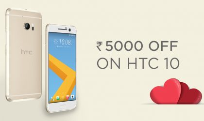 [Valentine deal] HTC 10 off by Rs. 5000 in India