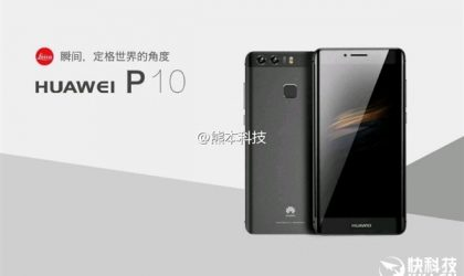 Huawei P10 and P10 Plus official images leak