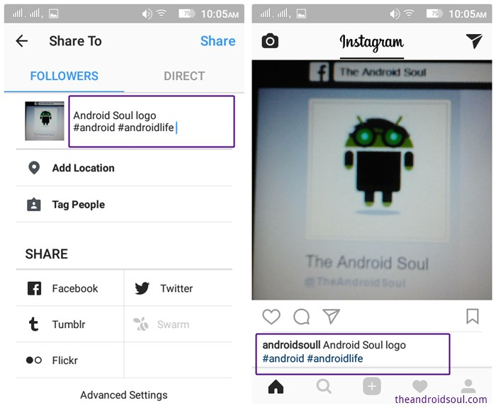 Instagram guide and tips for beginners the android soul instagram hashtags ccuart Image collections