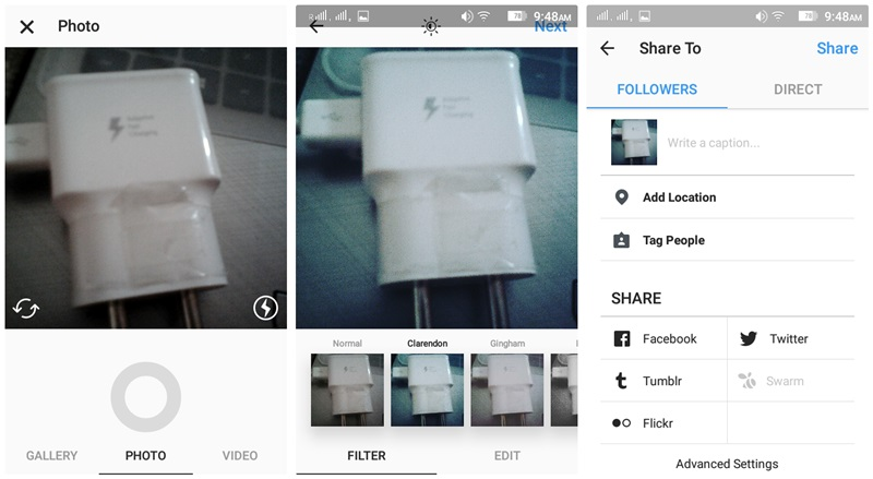 Instagram guide and tips for beginners instagram how to upload video and photo 1 ccuart Image collections