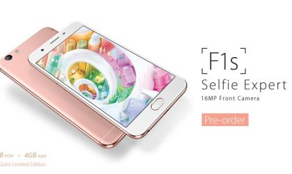 Limited edition Oppo F1s rose gold releasing in India on February 10th