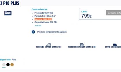 Huawei P10 Plus specs leak reveals 8GB RAM and upto 512GB storage capacity