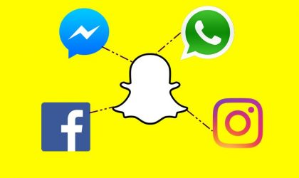 Snapchat features borrowed by Facebook, WhatsApp and Instagram