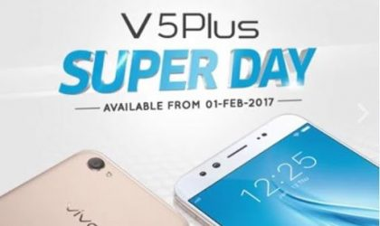 Vivo V5 Plus now available for purchase in India, priced Rs. 27,980