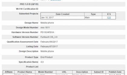 Vivo X9 release is close, certified by Bluetooth SIG