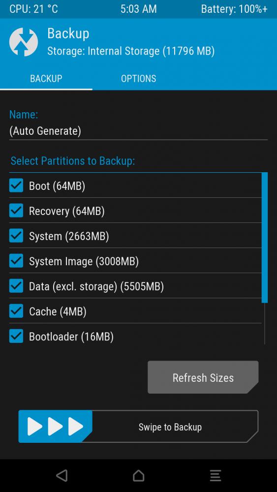 How to take TWRP Backup directly on PC via ADB