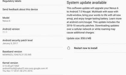 How to Avoid Nexus 6 Android 7.0 OTA update that downgrades your device