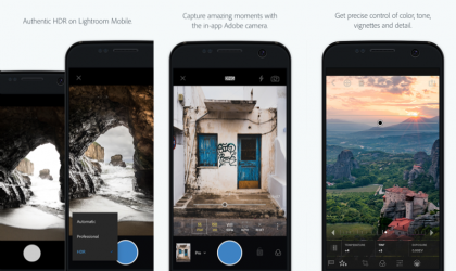 Adobe updates Lightroom Android app to bring in Authentic HDR