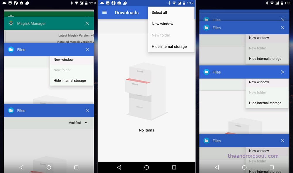 Android O multiple app instance