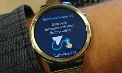 Android Wear 2.0 update rolling out for the Huawei Watch