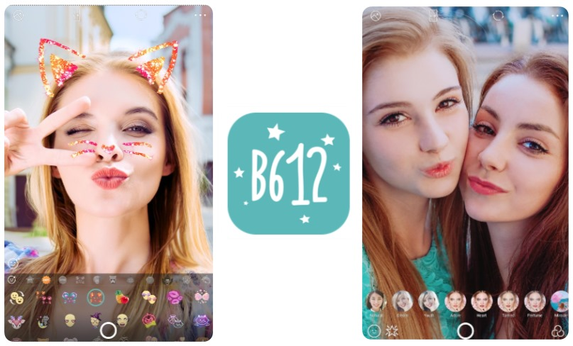 B612 - Selfiegenic Camera introduces 10 new beauty effects and voice  changing stickers