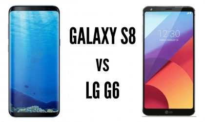 Galaxy S8 vs LG G6: Which one is better