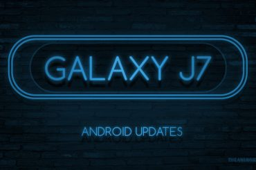 Galaxy J7 update