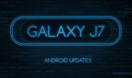 Galaxy J7 update: April security patch rolling out for 2016 variant
