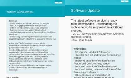 [Download] Galaxy Note 5 Nougat update rolling out in Turkey