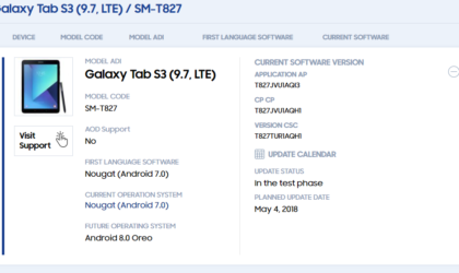 Galaxy Tab S3 Oreo update: Release date revealed; Android 8.0 now certified at Wi-Fi Alliance