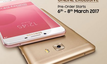 Galaxy C9 Pro priced RM 2,299 in Malaysia, pre-order begins on March 6th