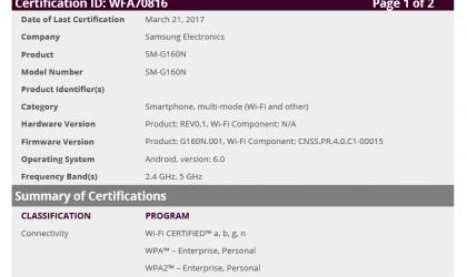 Galaxy Folder 2 may release globally soon, certified by WiFi Alliance