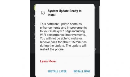Verizon Galaxy S7 Edge OTA update rolling out with WiFi performance improvements, build G935VVRU4BQA4