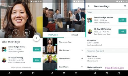 Google Hangouts Meet Android app now available on Play Store [Download APK]