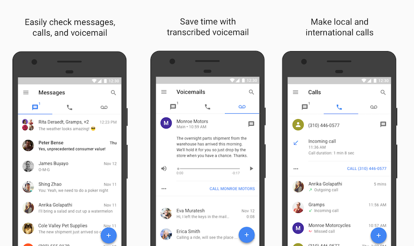 Google Voice New Update Allows You To Delete Conversations