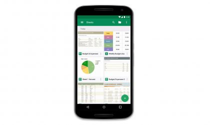 Google Sheets Android app gets Mouse/trackpad support and several other new features