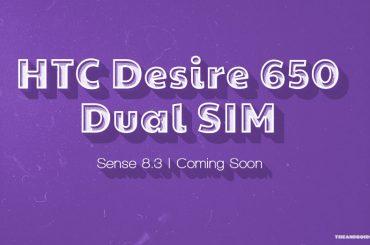 HTC Desire 650 Dual SIM