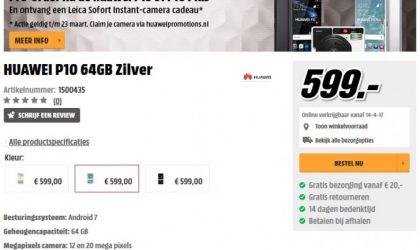 Huawei P10, P10 Plus and P10 Lite pre-orders begin in Netherlands
