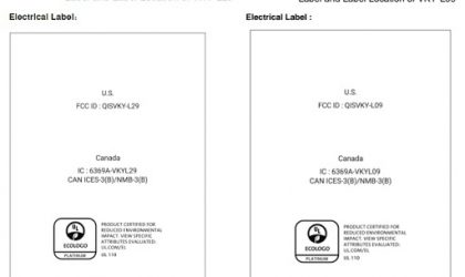 Huawei P10 Plus and P10 Lite clear FCC