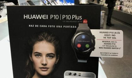 Huawei is giving a free Huawei Watch 2 with Huawei P10 pre-orders in Spain
