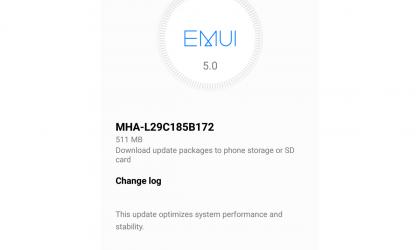 Huawei Mate 9 receives a huge OTA update with performance improvements, build MHA-L29C185B172