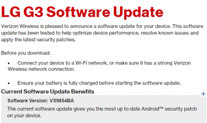 LG G3, G Vista and K4 get February security patch update