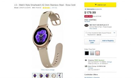 Deal: Best Buy selling LG Watch Style at just $179