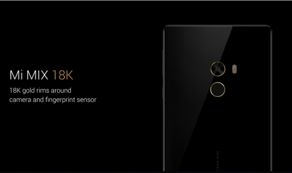Deal: Xiaomi Mi Mix 18k (256GB) available for $700