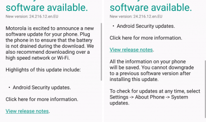 Moto G3 receives January security patch in Europe, build 24.216.12.en.EU