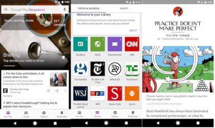 New update to Google Play Newsstand brings easy backup and performance improvements