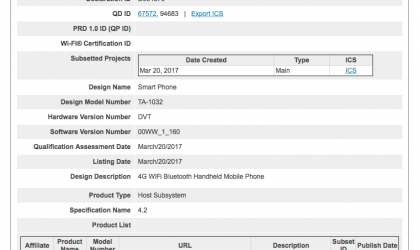 Nokia 3 clears Bluetooth SIG as TA-1032