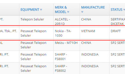 Nokia 3 will be headed to Asian markets bearing model number TA-1030