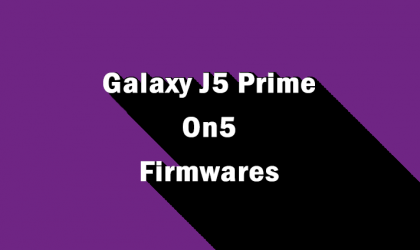 Download Galaxy J5 Prime 2017 / On5 2017 Firmware