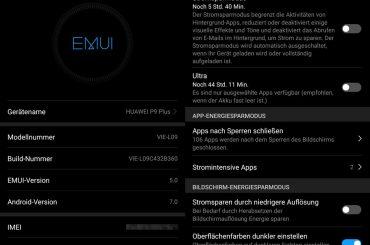 P9 Plus Nougat update release