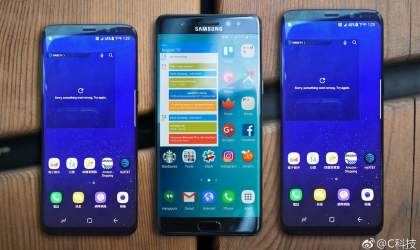 Galaxy S8 and S8 Plus size comparison with S7 edge and Note 7
