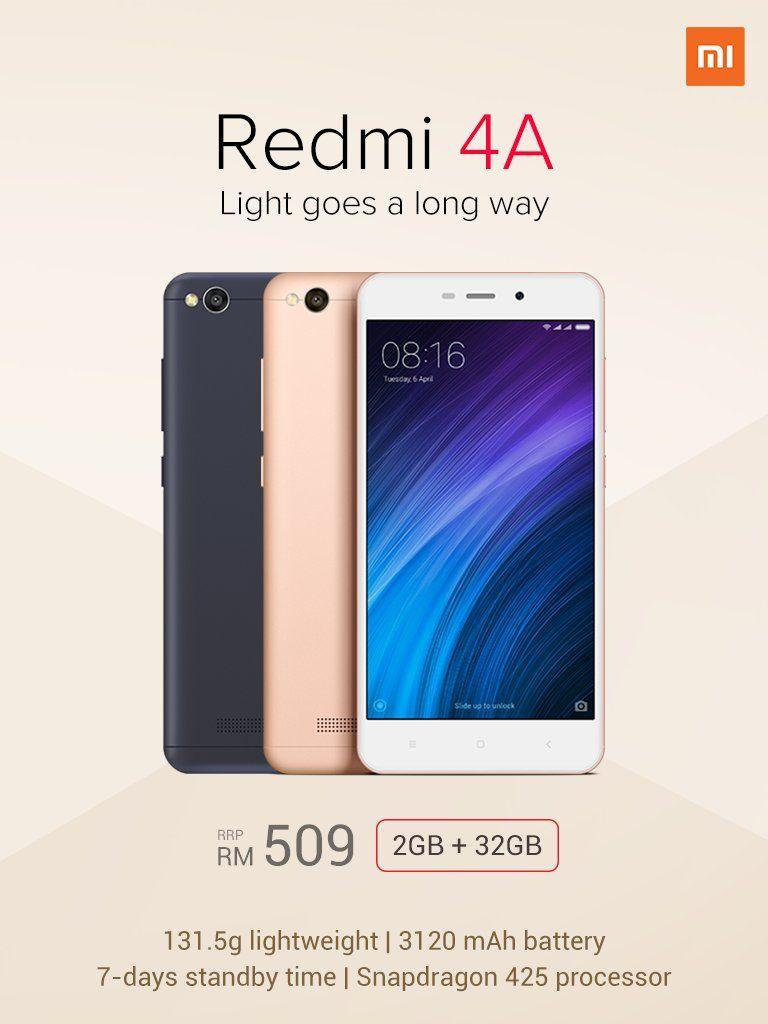 Xiaomi Redmi 4a 32gb Launching In Malaysia On 18th March
