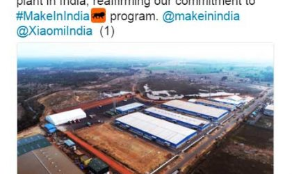Xiaomi announces 2nd power manufacturing plant in India under #MakeInIndia program