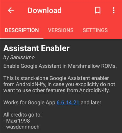 Enable Google Assistant on Marshmallow on any language with Assistant Enabler Xposed Addon [Root required]