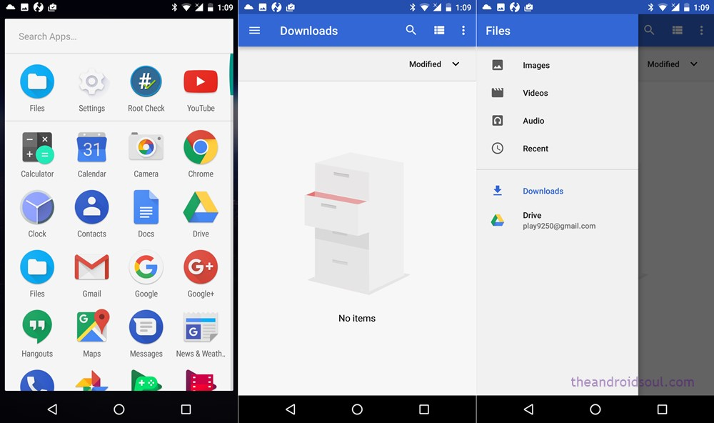 files app android o